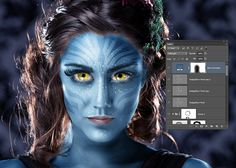 Avatar Na'vi - Photoshop CS6 Tutorial | Tutvid