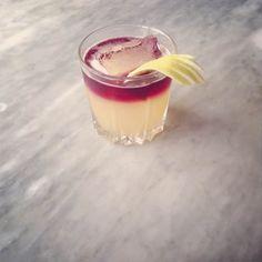 New York Sour: rye, lemon juice, rich simple syrup, dry red wine, lemon twist | Molly Wizenberg & Brandon Pettit for Food52
