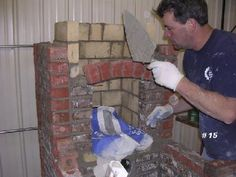 IForgeIron Blueprints Copyright 2002 - 2011 IFORGEIRON, All rights reserved BP0553 Building a Brick Forge - Part 1 by Jeremy Knippel 2006 I will try t...
