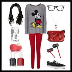 Mickey Mouse comfy outfit