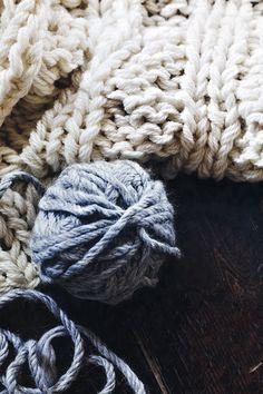 wool - yarn - knitting