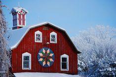 Red December by Clark Westfield, via Flickr