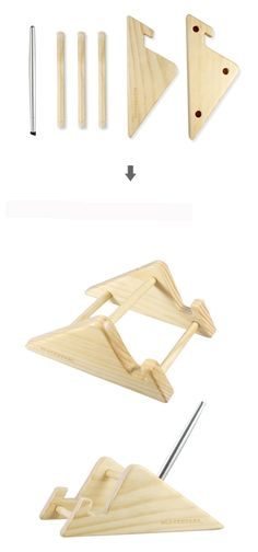 INFMETRY:: iPad Wood Stand - Electronics