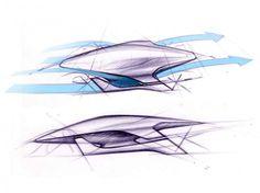 LaFerrari Design Sketch