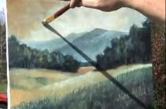 Landscape Painting Demonstration - Oil Painting - Video Lessons of Drawing & Painting