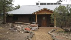 Eco Family 1900 Plan - very simple straw bale house, available for purchase http://strawbaleplans.com/eco-family-1900