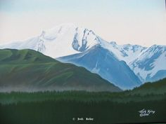 Original Mountain and Landscapes Paintings by Josh Kolay 54