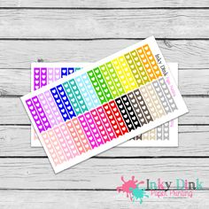 New to InkyDinkPrinting on Etsy: 63 Disco Roller Skating Half Sheet Planner Stickers Erin Condren Happy Planner Plum Planner Sticker Sampler EC Life Planner Limelife HS-51 (2.75 USD)