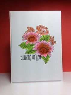 Blooming Garden, Penny Black,  by beesmom - Cards and Paper Crafts at Splitcoaststampers