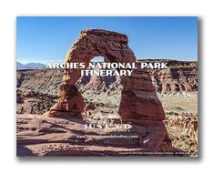 This ArchesNational Park Itinerary (over 12 pages!) will help you get started as you plan your vacation to ArchesNational Park. We've poured over 20 hours of