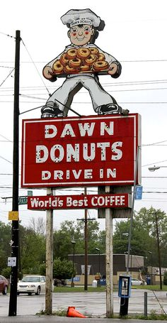 Dawn Donuts doesn't want their photos posted on Pinterest, so re-post this picture as many times as you can!