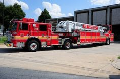 Bethesda Fire Department, Bethesda, MD - Ladder 706 - 2007 Pierce Arrow XT #fire #setcom #bethesda #maryland #firetrucks #trucks #red #rescue http://setcomcorp.com/csbheadset.html