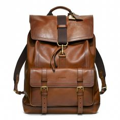 Coach is not my fav but love the backpack!  Coach® Bleecker leather backpack, in Fawn or Mahogany. (#70786)