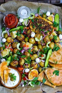Veggie Recipes, Healthy Dinner Recipes, Vegetarian Recipes, Cooking Recipes, Healthy Food, Food Porn, Greens Recipe, Antipasto, Food Inspiration