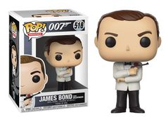 Available in: Item.James Bond - Sean Connery White Tux is now available as a Funko Pop! This stylized collectible stands 3 ¾ inches Sean Connery, Pop Vinyl Figures, Funko Pop Figures, Gentlemans Club, Roger Moore, Richard Gere, Red Dead Redemption, Crash Bandicoot, Batman Figures