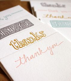 Image detail for -the stationery place: good idea: thank you cards