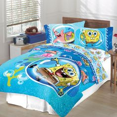 Spongebob Bubble Surprise Sheet Set