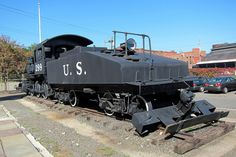 Paterson New Jersey Museum - One of the steam locomotives used to build the Panama Canal.