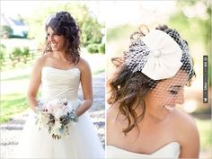 bird cage veil designed by | CHECK OUT MORE IDEAS AT WEDDINGPINS.NET | #weddinghair