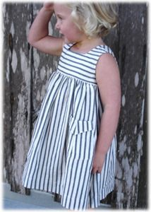 Cute little girl dress, and totally something I could coordinate w to match the…