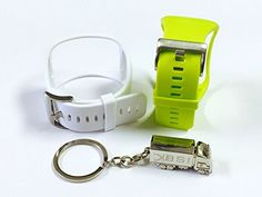 BSI Set 1pc Citrus Yellow and 1pc White Replacement Bands For Samsung Gear S Smart Watch Smartwatch Wireless  Free Silver Metal Truck Keychain with BSITM LOGO * Want additional info? Click on the image.