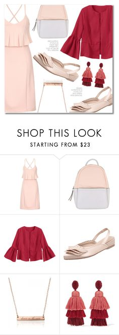 """""""soft and elegant"""" by laurafox27 ❤ liked on Polyvore featuring Lavish Alice, Calvin Klein and Oscar de la Renta"""
