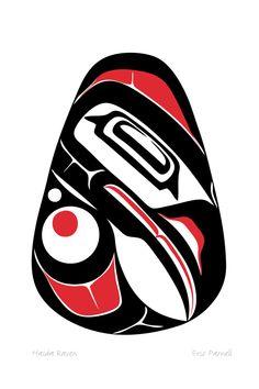 Haida Raven | Eric Parnell