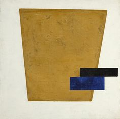Kazimir Malevich - Suprematist Composition with Plane in Projection. Oil on canvas, 21 by 20 in., by 53 cm. Painted in 1915 Contemporary Abstract Art, Modern Art, Minimal Art, Kazimir Malevich, Avantgarde, Collage, New York Art, Art Walk, Historical Art