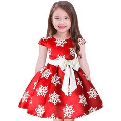 best=Girls Christmas Dress Kids Snowflake Chevron Print Bowknot Dress Cap Sleeves Xmas Party Prom Gowns , Looking for that Perfect Prom Dress? Baby Girl Dresses, Baby Dress, Flower Girl Dresses, Princess Dresses, Baby Girls, Baby Boy, Kids Girls, Snowflake Dress, Snowflake Party