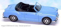 1969 #Volkswagen #Matchbox #Karmann Ghia Convertible 2009 Heritage Classics..DE ÉSTE VENDÍ VARIAS PIEZAS..