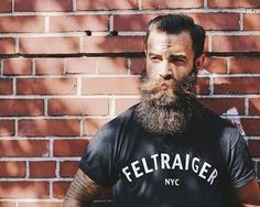 beardelicious:  Shoot for @feltraiger in their #feltraiger shop T. @jon_feltraiger