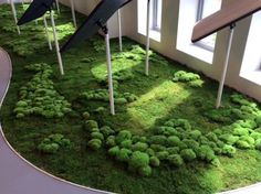 Moss realisation by Any Green Decospan holding