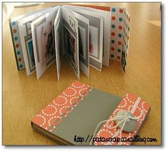 patascrap - Page 6 - patascrap Scrapbooking Mini Album, Scrapbooking Technique, Scrapbook Cards, Mini Album Scrap, Baby Mini Album, Mini Albums Photo, Minis, Accordion Book, Fabric Journals
