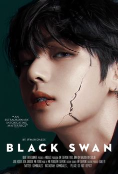 """""""Kim Taehyung in Black Swan, a psychological thriller about a dancer plunging into a profound introspection Taehyung Fanfic, V Taehyung, Bts Jungkook, Bts Photo, Foto Bts, Fanfiction, Wattpad Book Covers, V Bts Wallpaper, Bts Backgrounds"""