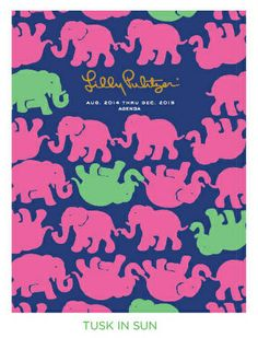 Cahoon's Closet - Lilly Pulitzer 2014-15 Luxe Agenda - Tusk In Sun, $40.00   (http://www.cahoonscloset.com/shop-by-category/stationery-calendars/lilly-pulitzer-2014-15-luxe-agenda-tusk-in-sun/)