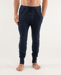 Lululemon Focus Pants: If you can get past the name and are man enough to admit to trying yoga Lululemon should be your go-to brand for stylish athletic wear. The men's range has been slowly getting better and these are by far and away the best sweatpants to date. $128 but they will last you ages.