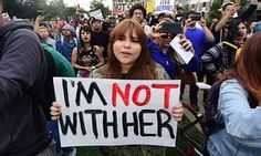 'I'm not with her': why women are wary of Hillary Clinton