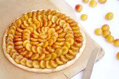 Tarte rustique aux mirabelles - Empreinte Sucrée Beignets, Apple Pie, Blog, Sweet, Christine Ferber, Muffins, Sweets, Cherry Clafoutis, Tarts