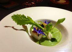 Sturgeon w/Smoked Green Garlic and Tokyo Turnips at Sons & Daughters