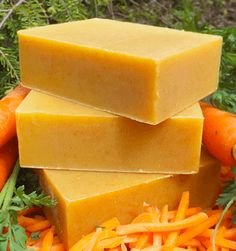 Carrot Honey Complexion Soap Recipe