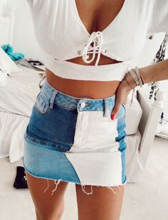 Cute Preppy Outfits, Trendy Summer Outfits, Stylish Outfits, Teen Fashion Outfits, Outfits For Teens, Girl Outfits, Moda Fashion, Teenager Outfits, Outfit Goals