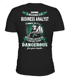 BUSINESS ANALYST Funny Business T-shirt, Best Business T-shirt