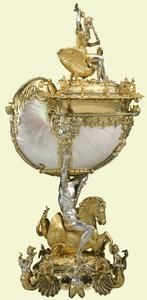 Nautilus cup, c.1600  c.1600    Nikolaus Schmidt    Purchased by George IV
