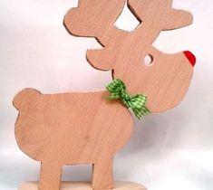 DIY Pallet ideas for Home: Rudi Reindeer Christmas Decoration Scrap Wood