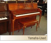 Janssen console piano year 1960 used pianos for sale for Yamaha dgx640c digital piano cherry