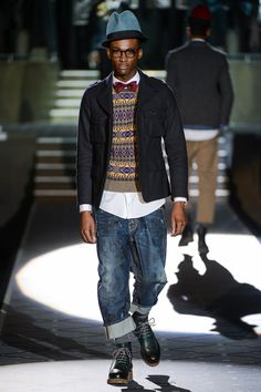 Dsquared2 Fall 2013 Menswear Fashion Show