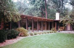 Harlow Home – designed by Alden B. Dow
