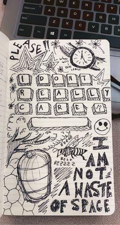 Indie Drawings, Art Drawings Sketches Simple, Drawing Ideas, Arte Grunge, Grunge Art, Trash Art, Art Diary, Indie Art, Art Journal Inspiration