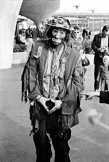 "Emmett Leo Kelly (December 9, 1898 - March 28, 1979) was an American circus performer, who created the memorable clown figure ""Weary Willie"", based on the hobos of the Depression era."