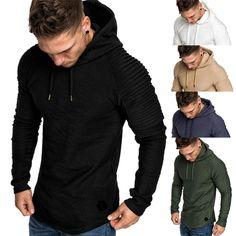 Roiper Homme Hiver Chaud Polaires Doublé Sweats à Capuche Cotton Manteaux  Doux Blousons Sweat-Shirts 8dd7f61384d